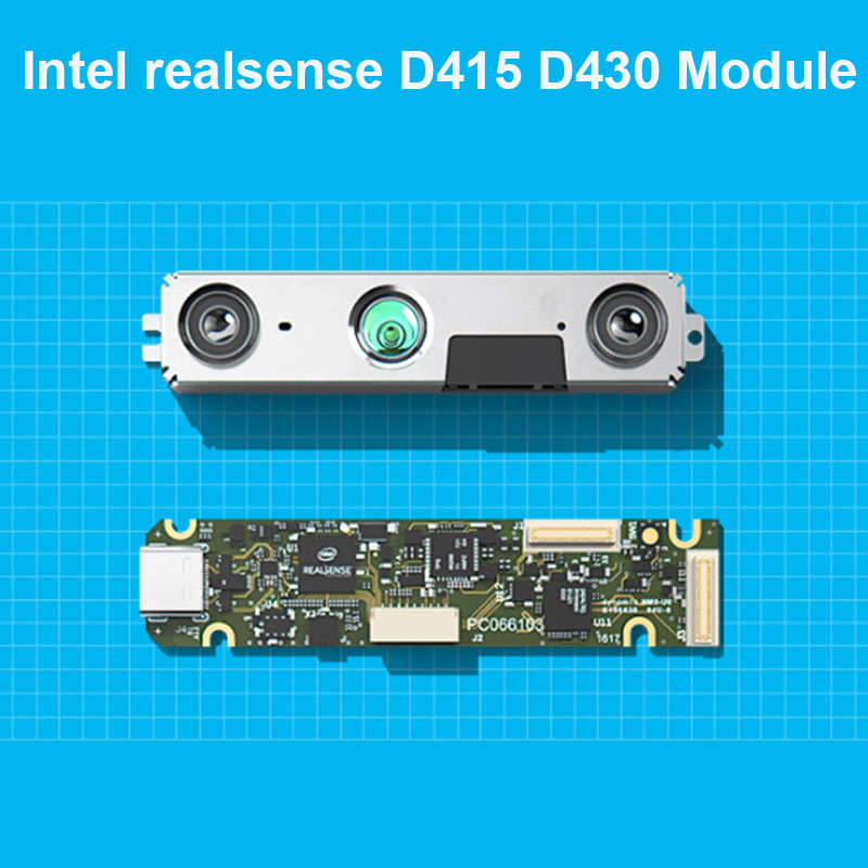 Intel Realsense D415 D430 Module Kit 3D Camera Depth Module With USB Intel Realsense D415 D430 Module AI Development Robot