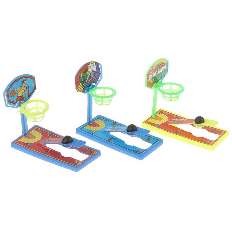 2 conjunto mini bolso dedo basquete desktop máquina de tiro anti-stress descompressão crianças brinquedo pai-filho jogos interativos