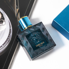 50ml original men's perfume glass bottle fashion cologne lasting light fragrance gift box packaging