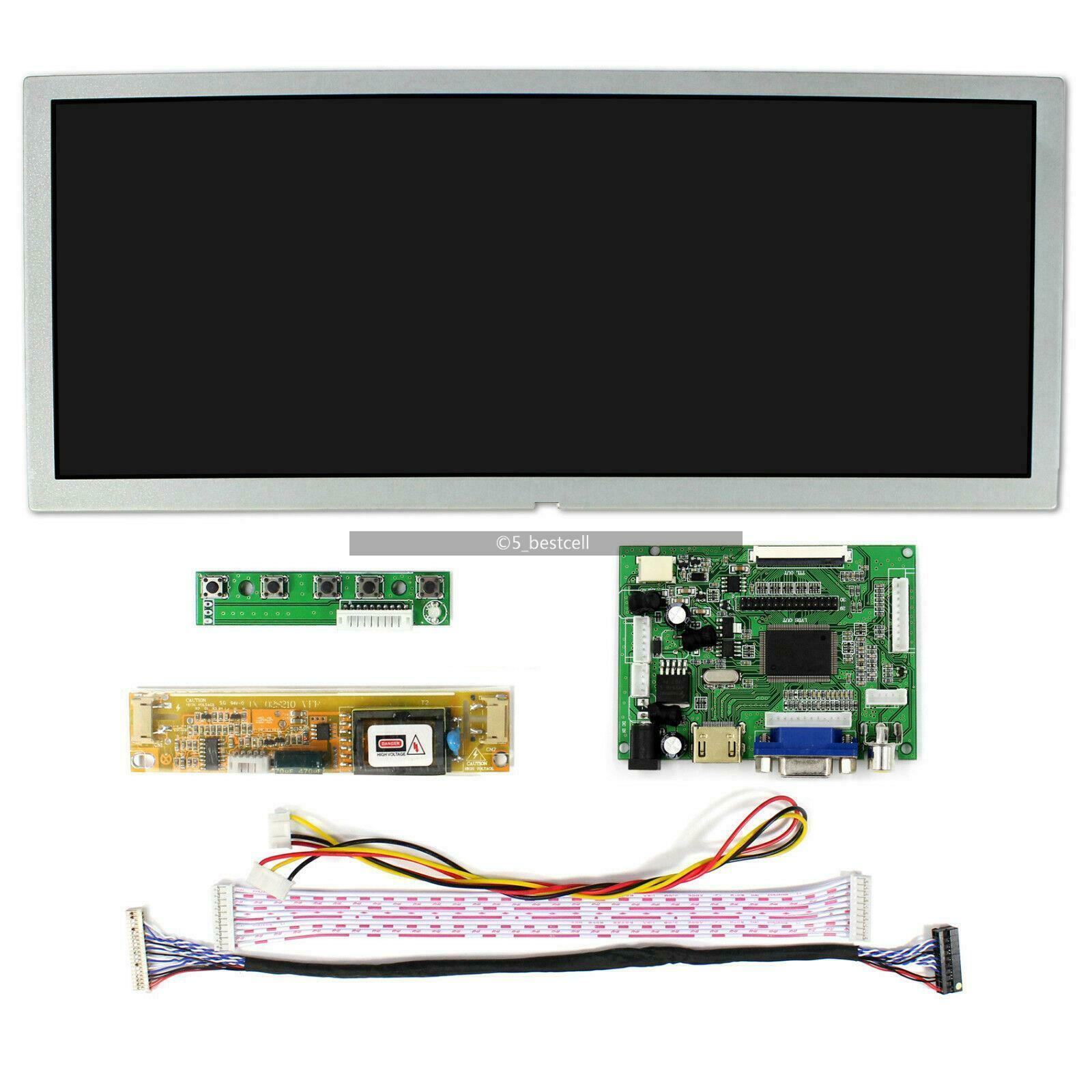 Latumab 12.3 Inch LCD Display Screen Monitor Driver Board Controller LQ123K1LG03 VS-TY2662-V1 HDMI VGA 2AV For Raspberry Pi 3