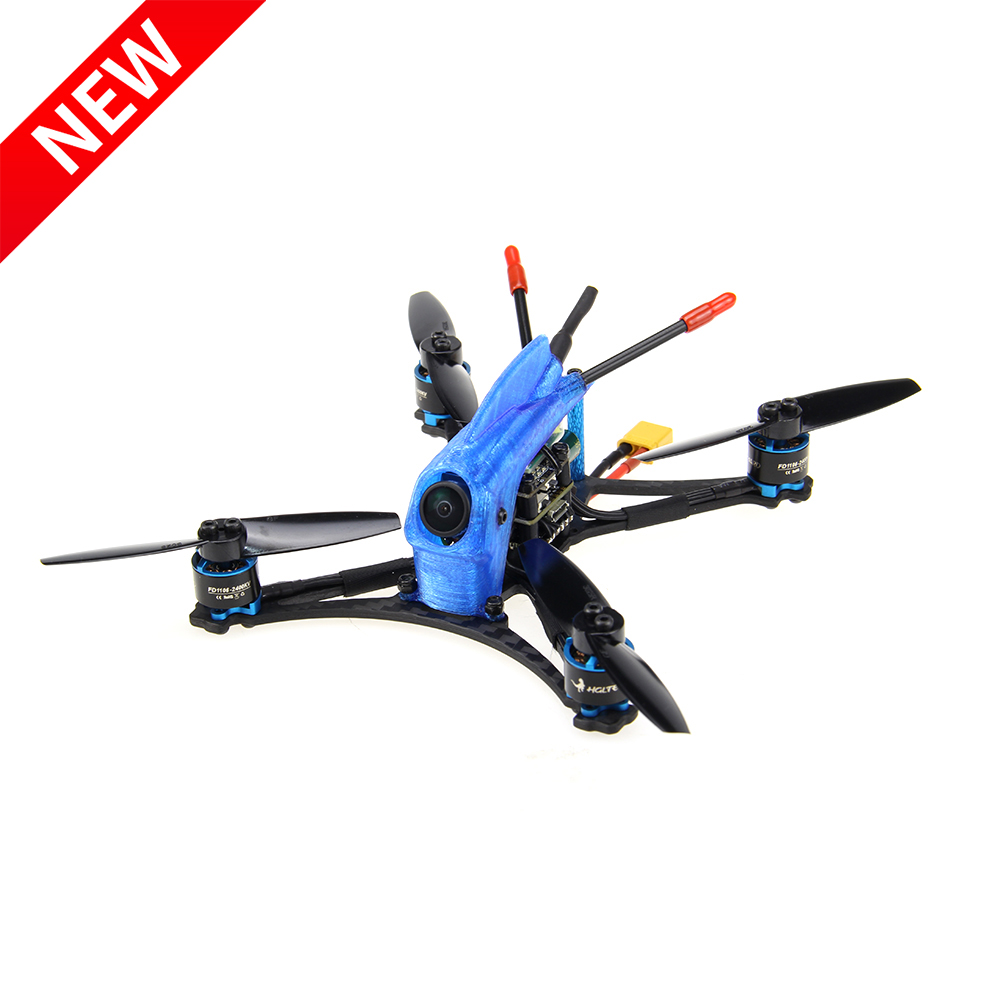 New HGLRC Parrot132 5-6S 3inch Toothpick FPV Racing Drone PNP BNF with CADDX Turbo Eos V2 Camera <font><b>1106</b></font> <font><b>Motor</b></font> FD13A ESC image