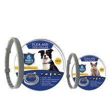 8 meses pulga y garrapata Collar para perros, collar para gatos mascotas ajustable Collar de perro para perros pequeños accesorios de mascotas lindo productos