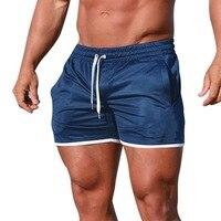 Nice Summer Men Fitness Bodybuilding Shorts Men Gyms Workout Male Breathable Sportswear Jogger Beach Shorts Fashion Broadshorts