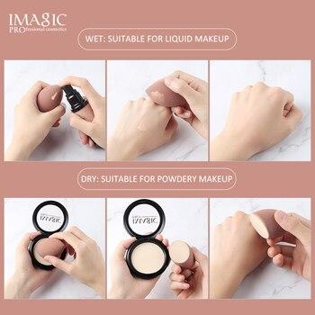 IMAGIC Makeup Sponge Professional Cosmetic Puff For Foundation Concealer Cream Make Up Soft Water Sponge Puff Wholesale 5