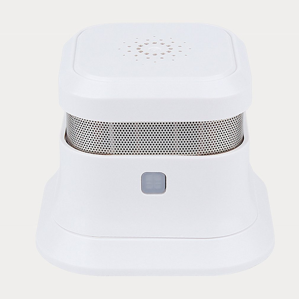 Fire Smoke Detector Wireless Fire Alarm Sensor Independent Photoelectric For Home Security Alarm System