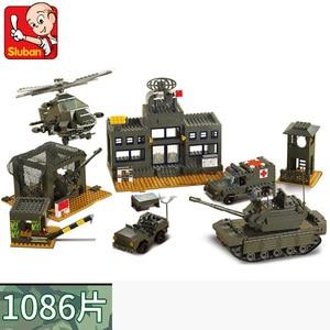 Image 5 - Military Tank Car Truck Plane Spaceship WW 2 Army Figures Series Set Soldier Weapon Building Blocks Bricks Model Toys Boy Gifts