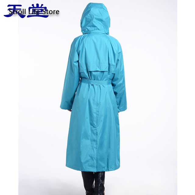 Adult Men Windbreaker Rain Coat Women Outdoor Long Rain Coat Travel Hiking Rain Poncho Trench Coat Men Waterproof Suit Gift 4