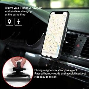 Image 4 - Para iPhone XS NILLKIN Qi magnético Receptor de Cargador Inalámbrico para iPhone XR cargador inalámbrico del coche y magia caso para iPhone X