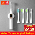 Mijia Oclean X Sonic электрическая зубная щетка для взрослых Водонепроницаемая ультразвуковая автоматическая зубная щетка для быстрой зарядки
