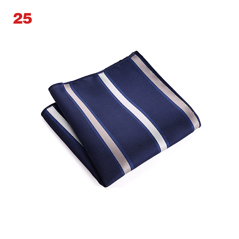 High Quality Vintage Men British Design Floral Print Pocket Square Handkerchief Chest Towel Suit Accessories