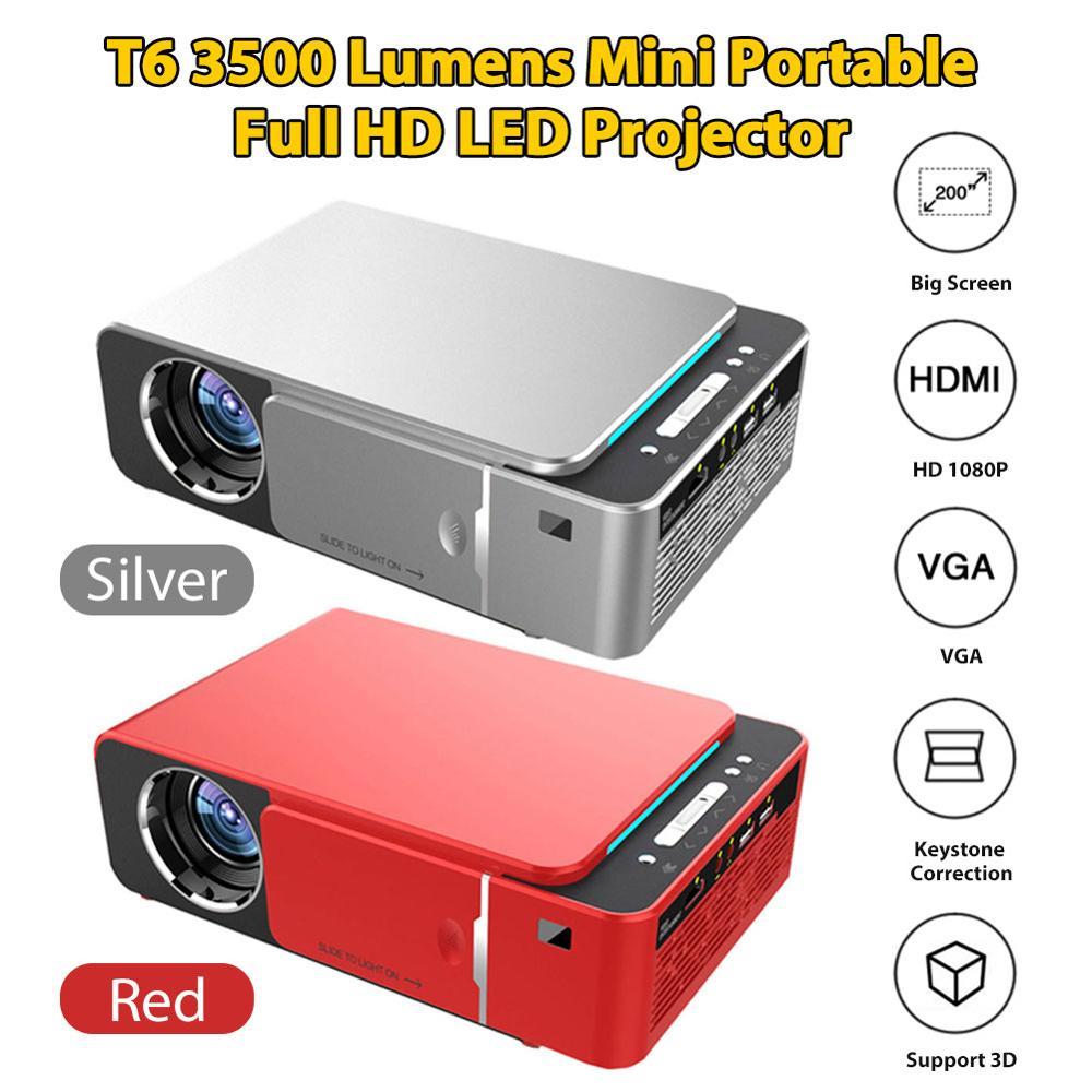 Оригинальный VIVIBRIGHT GP80 проекты светодиодный 1800 люмен HD мини портативный проектор для домашнего кинотеатра Поддержка 1080P USB HDMI - 2