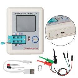 Многофункциональный TFT тестер транзисторов с подсветкой, 3,5 дюймов, экран, многофункциональный транзистор, тестер LCR-TC1, 3,5 дюймов, цветной ди...