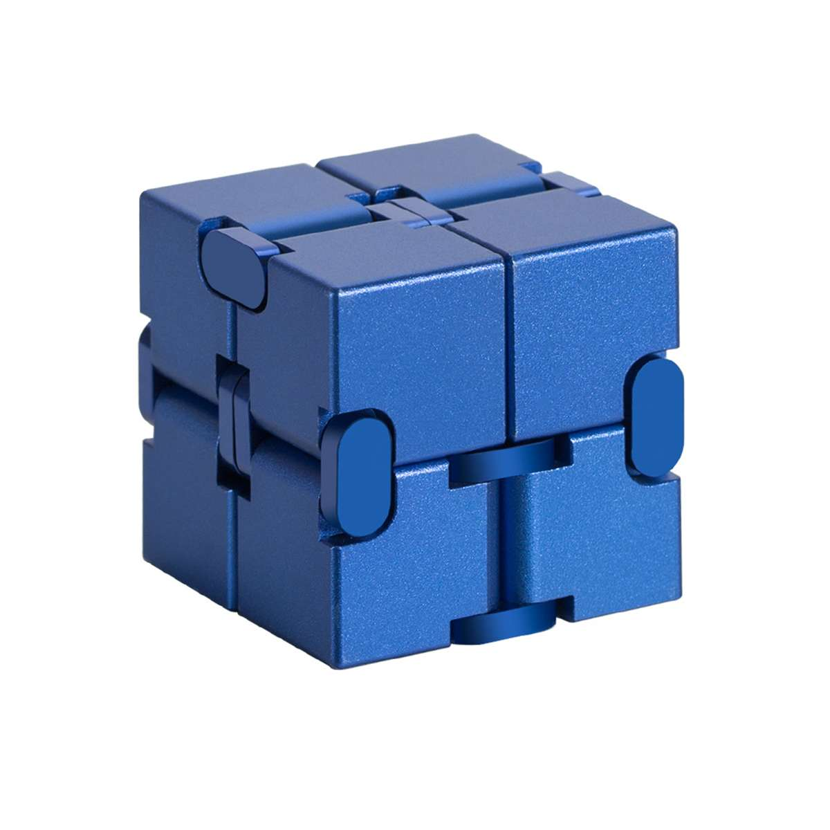 Updated Version Mini Infinit Cube Finger Anxiety Stress Relief Blocks Magic Cube Toy Funny Cube Puzzle Relax Toy For Adults Kid