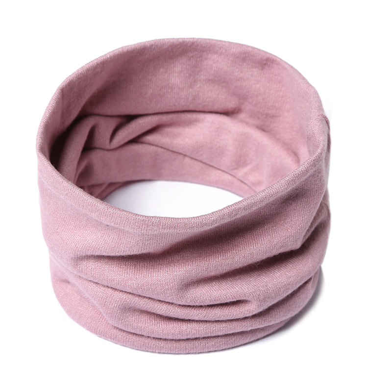 Unisex Ring Scarf Women Winter Neck Scarves Wrap Solid Cashmere Knitted Men Kid Collar Warm Snood Sport Mask 2020 New