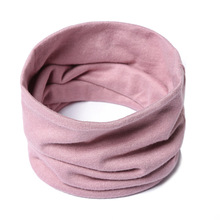Unisex Ring Scarf Women Winter Neck Scarves Wrap