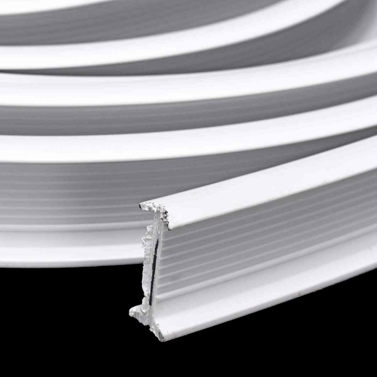 New 5m Flexible Ceiling Mounted Curtain Track Rail Straight Slide Windows Balcony Plastic Bendable Home Window Decor Accessories