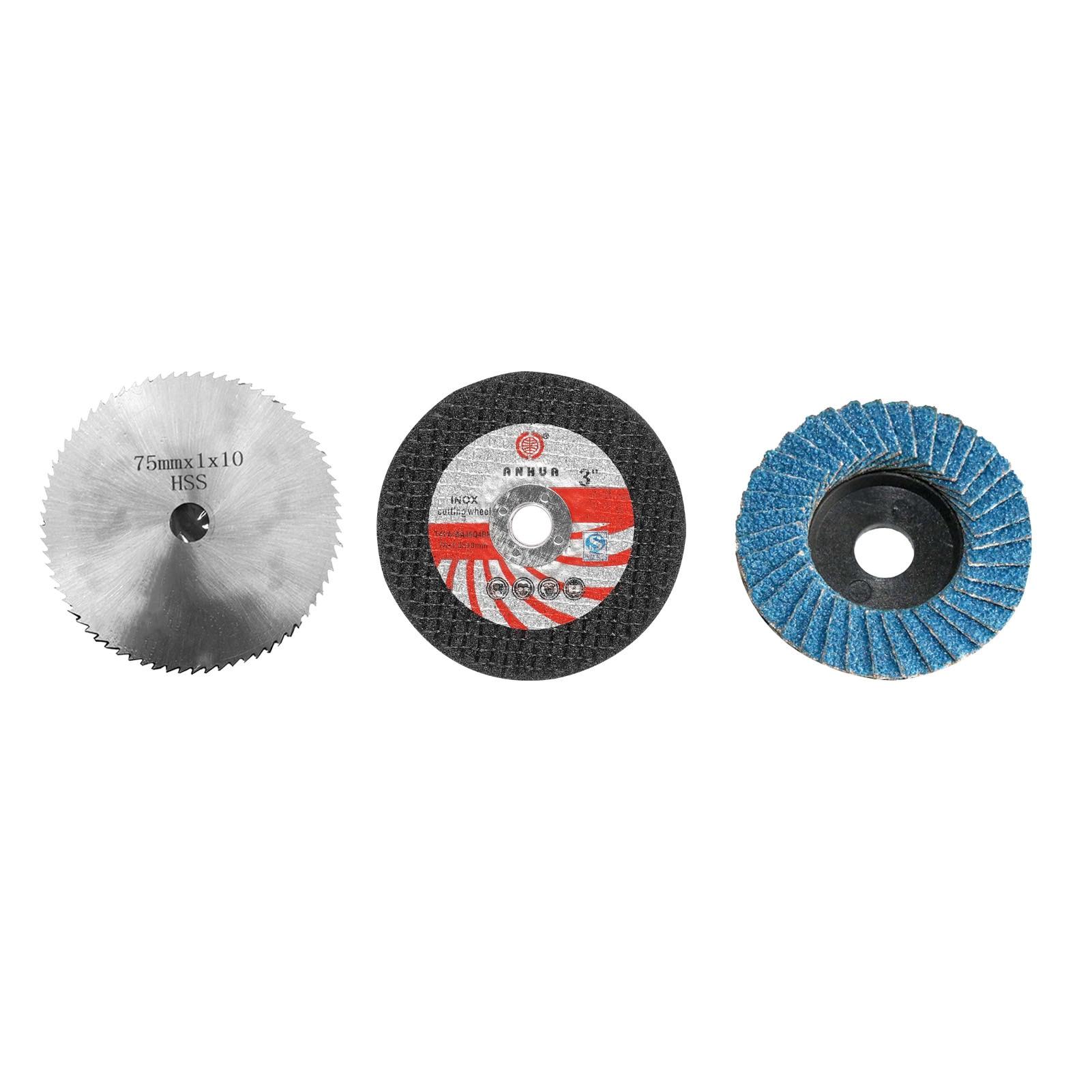 75 мм диаметр 10 мм Отверстие Шлифовальный Диск многофункциональная электрическая угловая шлифовальная машина насадка 3 дополнительно