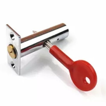 Stainless steel Pipe lock Invisible Mortise  door lock Fire door Escape Aisle Furniture hardware accessories цена
