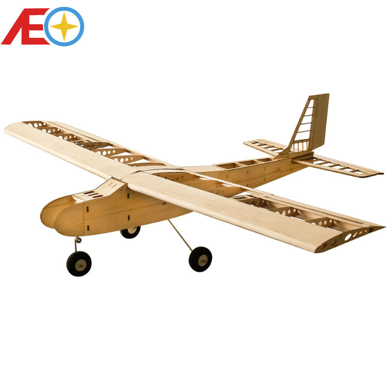 New T40 Training Balsa Wood Balsawood Airplane Models 1550mm Wingspan RC Plane RC Building Toys Woodiness