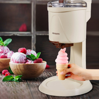 Ice Cream Maker Fully Automatic Mini Fruit Soft Serve Ice Cream Machine for Home Electric DIY Kitchen Maquina De Sorvete for Kid