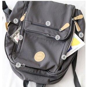 Image 5 - Sac à dos étanche pour femmes, sac décole en Nylon pour les élèves, beaucoup de sacs décole à fermeture éclair pour adolescents