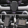 Gravity Car Phone Holder Dedicated Air Vent Mount Clip Clamp Mobile Phone Holder for Toyota RAV4 Accessories 2019 2020 discount