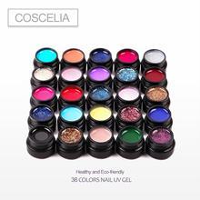 12/24PCS Nail Gel Full 36 Color UV Varnish For Art Semi Permanant High Quality Polish Set
