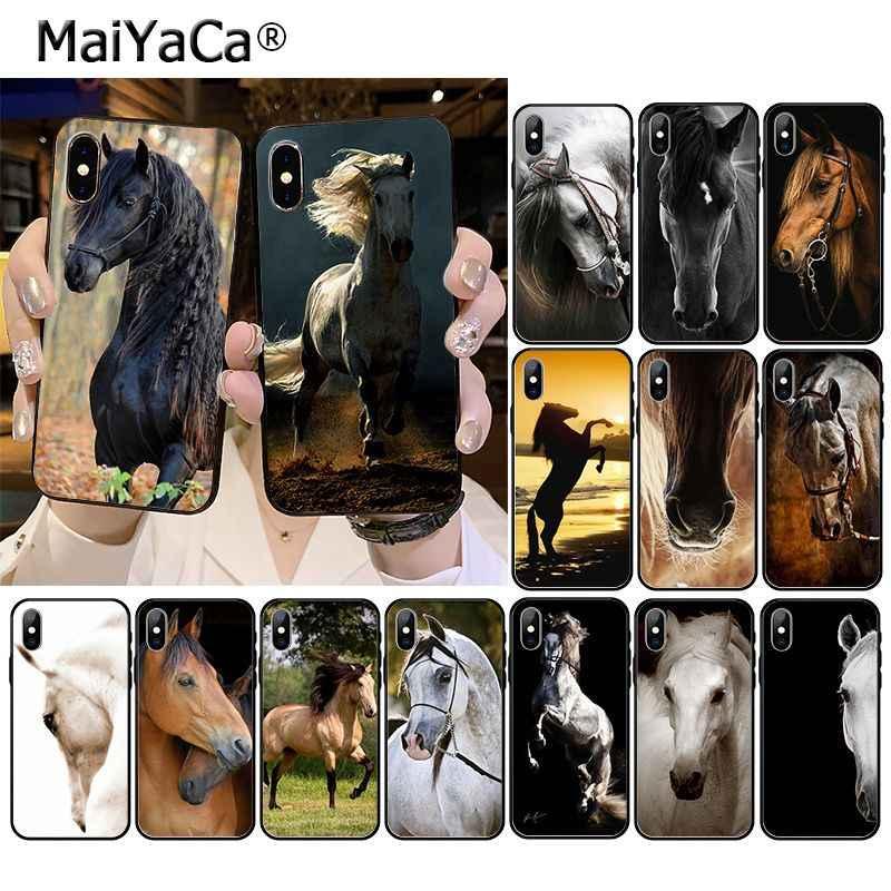 MaiyaCa فريدريك الكبير الجمال الحصان ملحقات الهاتف الحال بالنسبة آيفون 11 برو XS ماكس XS XR 8 7 6 Plus 5 5s SE