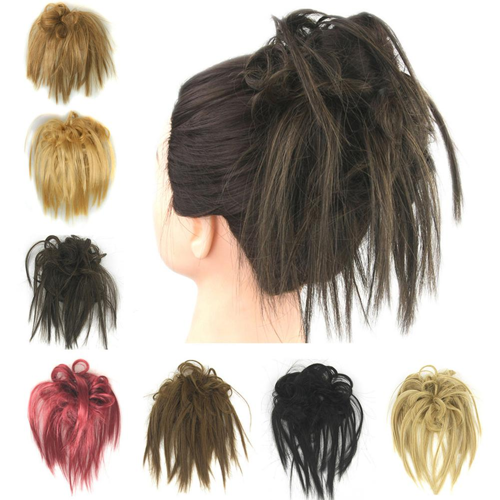 Women Fashion High Temperature Wire Plate Hair Ring Wig Bag For All Skin Type