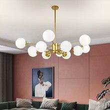Nordic LED Chandeliers Modern Minimalist LED Chandelier Celling Lamp for Living Room Ceiling Suspendsion Chandelier Lighting