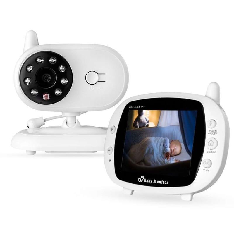 850 Babyphone Wireless Video Baby Monitor Kamera 3,5 Zoll LCD-Display (Us-stecker)