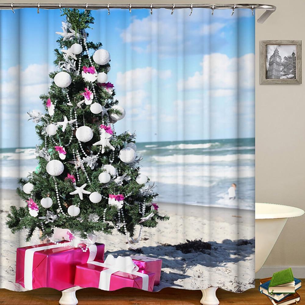 decoração do banheiro cortinas de banho tecido