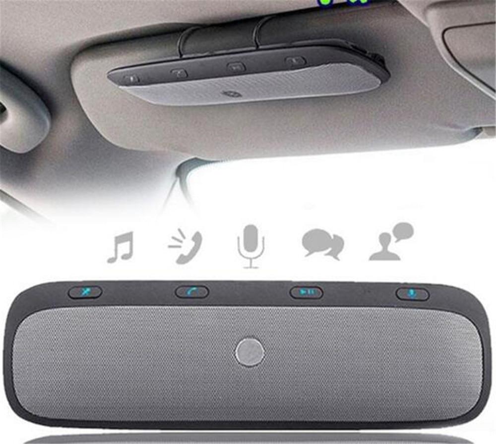 1 Set Universal Sun Visor Car Bluetooth Wireless Hands-free Speaker Phone NEW