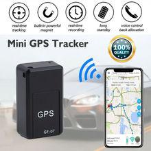 цена на Mini GPS Real Time Car Locator Anti-theft Tracker Portable Gps Tracker Anti-Lost Recording Tracking Device Voice Control