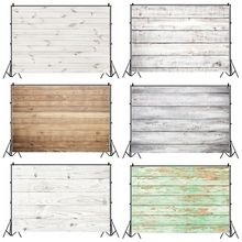 Laeacco Wooden Board Plank Texture Baby Shower Photography Backdrops Photo Backgrounds Newborn Photophone For Photo Studio Props