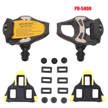 SPD-SL 105 PD-R5800 Bike Pedals Bicycle Platform Pedals SPD-SL System Professional Cycling Bike Road Pedals Includes Cleat