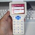 Английский супер ручной Rfid NFC копир читатель писатель cloner 9 частота + 5 шт 125 кГц карта + 5 шт 13 56 МГц UID сменная карта