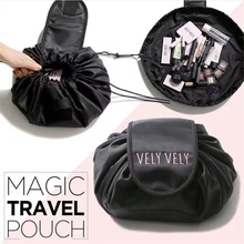 Women Drawstring Cosmetic Bag Fashion Travel Makeup Bag Orga