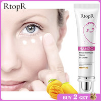 RtopR Mango Eye Cream Anti-Wrinkle Moisturizing Anti-Age Remove Dark Circles Eye Care Against Puffiness And Bags Hydrate Cream 2