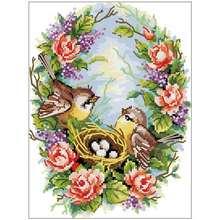 Набор для вышивки «Птичье гнездо» набор «сделай сам» вышивания
