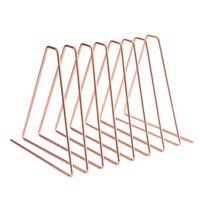 Flexible Bookend Metal Book Holder Desktop Organizer Support Stand Shelf Rack|Bookends| |  -