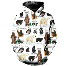 Tessffel animal Blackbear camo casual 3DPrinted Hoodie/Sweatshirt/Jacket/shirts Mens Womens HIPHOP fit colorful Harajuku style-2