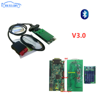 5pc/lot by DHL VD TCS CDP with bluetooth 3.0 pcb 2016R0 keygen Scan vd ds150e cdp for delphis obd obd2 car truck diagnostic tool