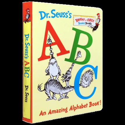 ingles ingles dr seuss abc um livro de alfabeto incrivel criancas papelao pitcute livros brinquedos