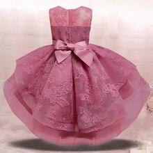 Штаны для девочек с рождественским изображением кружевное платье принцессы для девочек детское платье для свадьбы, Вечерние вечернее плат...