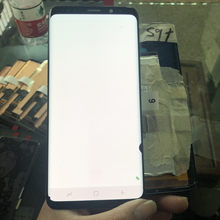"6.2 ""LCD Für Samsung Galaxy S9 plus G965 SM-G965F LCD Display + Touch Screen Digitizer mit viele flecken Original amoled lcd Montage(China)"