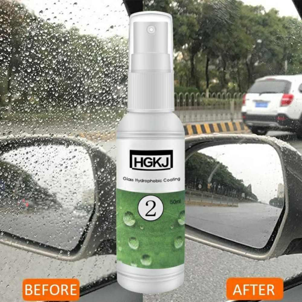 HGKJ-2-20ml Waterdichte Regendicht Anti-fog Middel Glas Hydrofobe nano Coating spray Voor Auto Vensterglas Auto Accessoires TSLM1