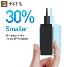 Youpin 65W GaN Schnelle Batterie Ladegerät US EU Adapter USB Typ C Handy Ladegeräte Für Iphone Samsung Xiaomi huawei Tragbare