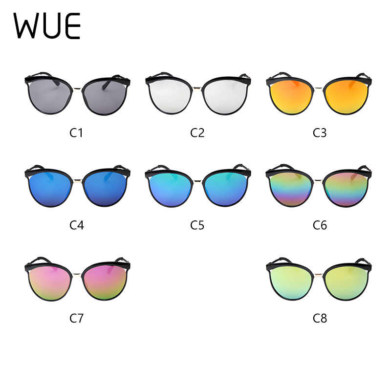 2019 Gato Olho Óculos De Sol Das Mulheres Marca de Moda Designer Shades Espelho Cateye Óculos de Sol do vintage Para O Sexo Feminino