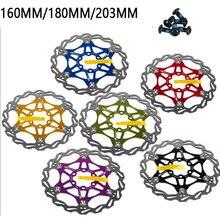 Дисковый тормоз горного велосипеда ротор плавающего диска велосипедная